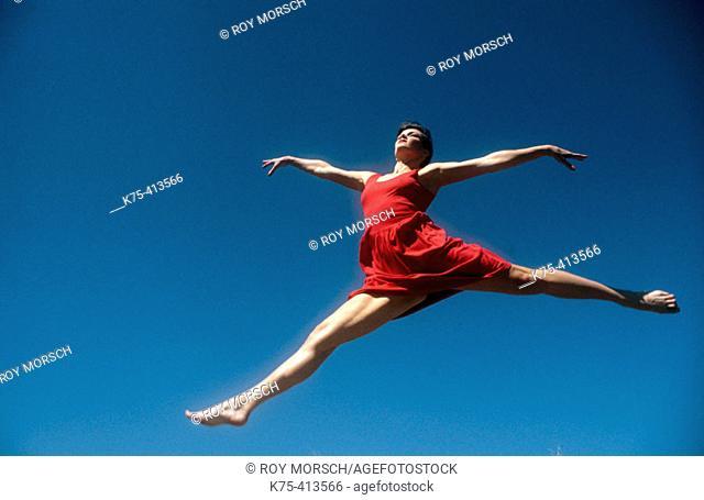 Dancer in the sky