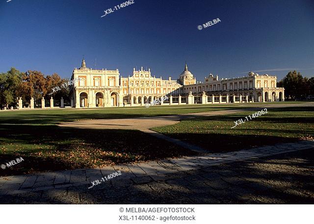 Royal Palace in Aranjuez Style of Luis XIV Aranjuez  Madrid  Spain