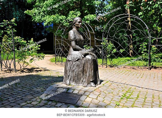 Monument of Bronislawa Wajsz in Gorzow Wielkopolski, city in Lubusz Voivodeship, Poland