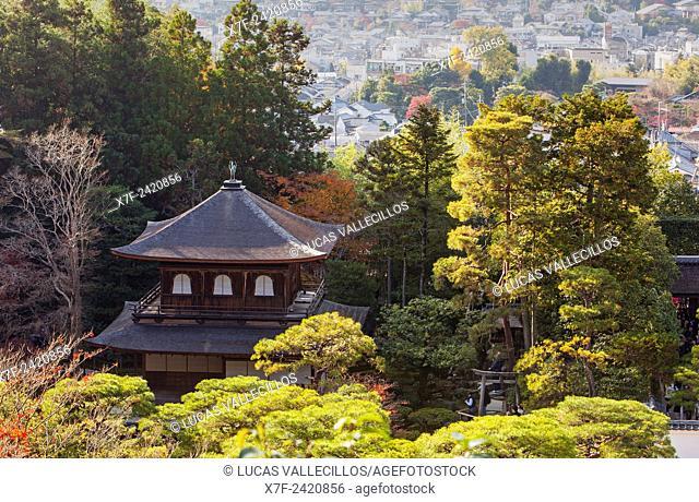 Silver Pavilion, Ginkaku ji temple, Kyoto, Kansai, Japan
