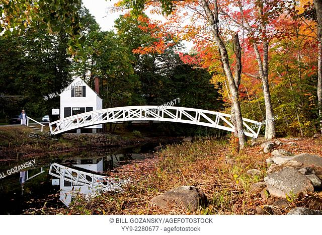Somesville Bridge - Village Somesvillle, Mount Desert Island, Maine, USA
