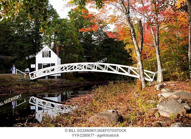 Somesville Bridge - Village Somesvillle, Mount Desert Island, Maine, USA