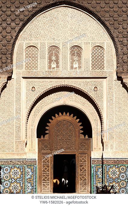 Ali Ben Youssef Medersa, Marrakech,Morocco