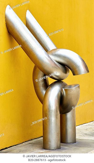 """""""""""""""Eslabón"""""""", by Pepe Noja, Tourist Office, Avilés, Asturias, Spain, Europe"""
