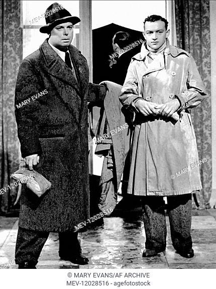 'Jean Renoir & Roland Toutain Characters: Octave & Andre Jurieux Film: The Rules Of The Game; La Regle Du Jeu (1932) Director: Jean Renoir 08 July 1939'