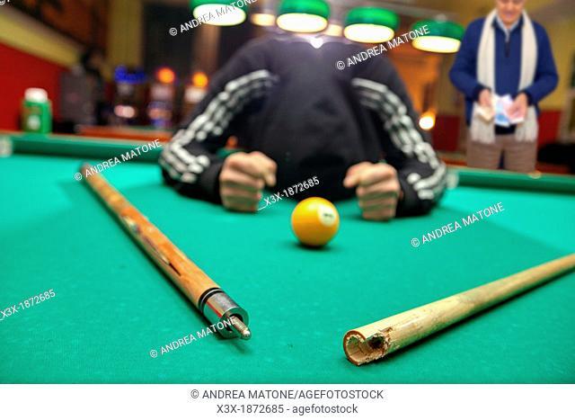 Loosing at pool