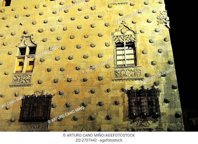 Casa de las Cochas, XV-XVI centuries. Salamanca, Spain