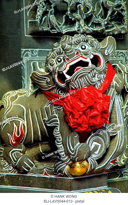 Statue in a temple