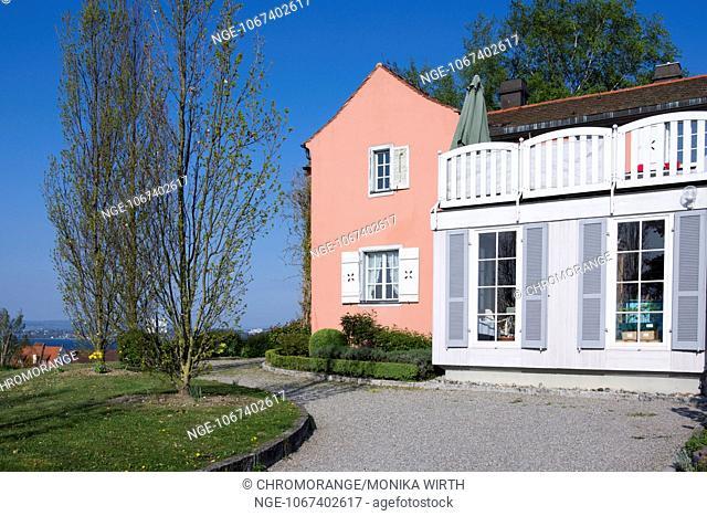 Fürstenhäusle, Meersburg, Lake Constance, Baden-Wuerttemberg, Germany, Europe