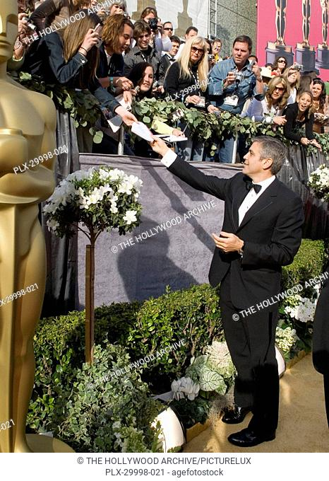 The Academy Of Motion Picture Arts And Sciences Presents 78th Annual Awards George Clooney