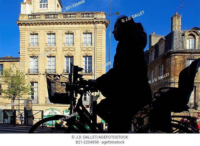 Cours Victor Hugo at Bordeaux, Gironde, Aquitaine, France