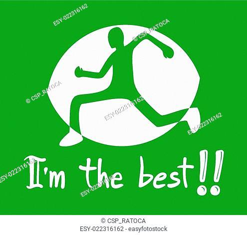 athlete symbol