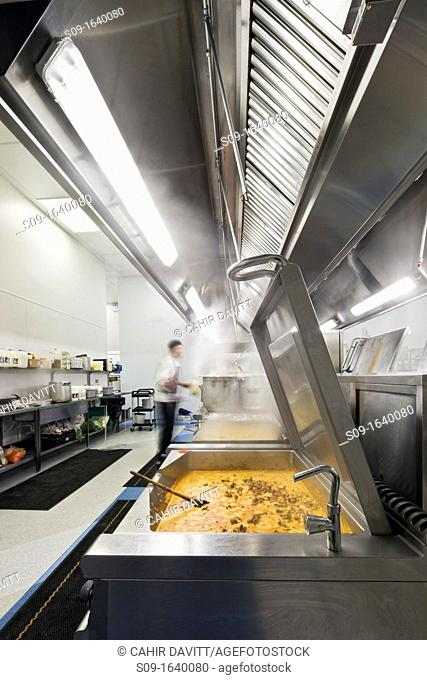 Industrial commercial kitchen for distribution of pre-packed food, Kilbride, Bray, Co  Wicklow, Ireland