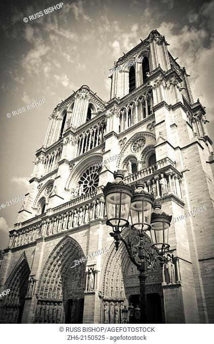 Notre Dame Cathedral, Paris, France