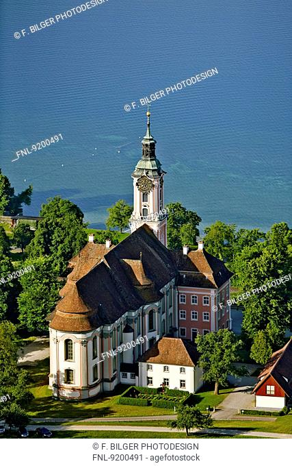 Baroque church Birnau at Lake Constance, Baden-Wuerttemberg, Germany