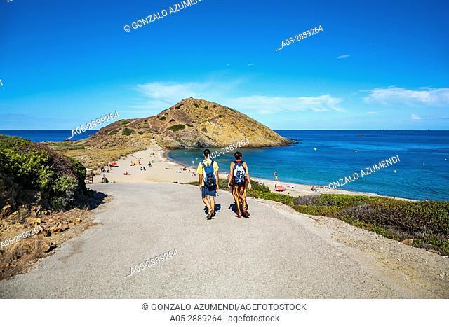 Cala Mesquida Beach. Sa Mesquida. Mao Municipality. Minorca. Balearic Islands. Spain