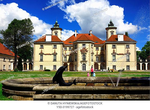 Palace in Otwock Wielki or Otwock Grand Palace known also as Jezierscy Family Palace or Bielinscy Family Palace, architect Tylman van Gameren