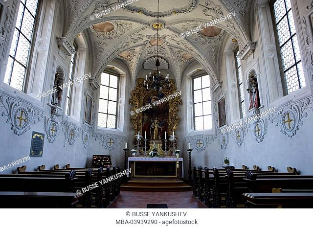 Germany, Baden-Württemberg, Lake Constance-district, Lake Constance, Linzgau, Markdorf, St.-Santa Claus-church, Lady altar