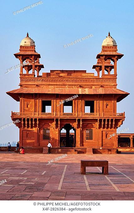 India, Uttar Pradesh, Unesco World heritage, Fatehpur Sikri, Diwan-i-Khas