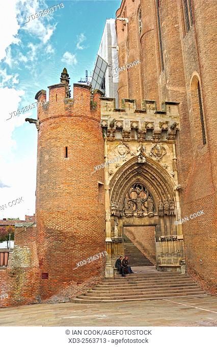 Saint Cecile Cathedral, Albi, Tarn Department, Midi-Pyrenees, France