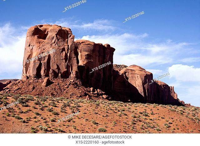 Monument Valley in the American Southwest is one of the most iconic and recognized landscapes in the world