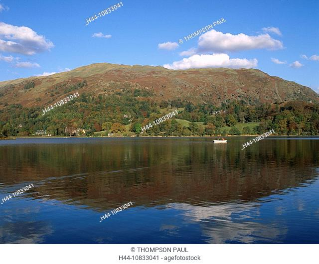 UK, England, Europe, Grasmere, Lake District, national park, Cumbria, United Kingdom, Great Britain, Europe, landscape