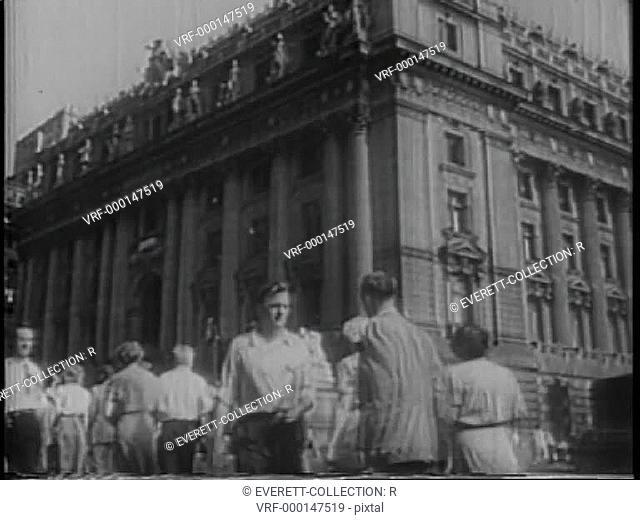 City Hall, New York City, 1940s
