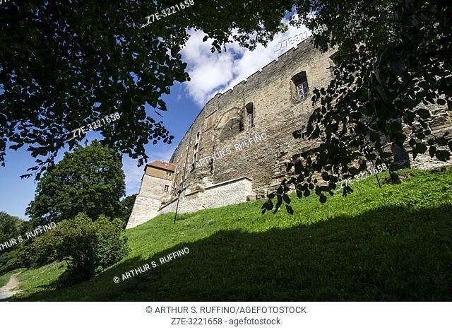 Toompea Castle (Toompea Loss), Toompea Hill, Old Town, Tallinn, Estonia