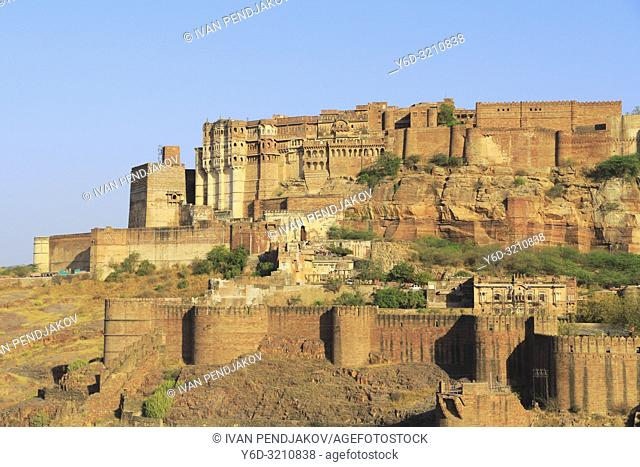 Mehrangarh Fort, Jodhpur, Rajastan, India