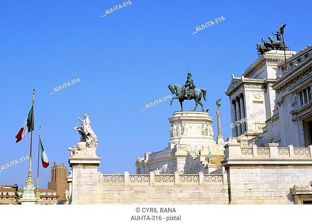 Italy - Rome - Monument of Vittorio Emanuele II