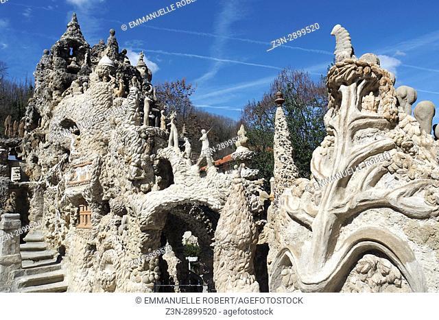 Palais Ideal facteur cheval, Hauterives, Drôme, Rhone Alpes Auvergne, France, Europe