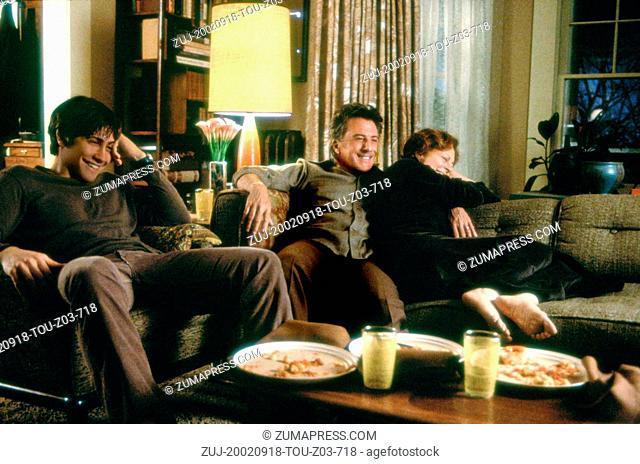 Sep 18, 2002; Los Angeles, CA, USA; (L-R) JAKE GYLLENHAAL, DUSTIN HOFFMAN and SUSAN SARANDON star in 'Moonlight Mile.'. (Credit Image: ZUMA Press/ZUMAPRESS
