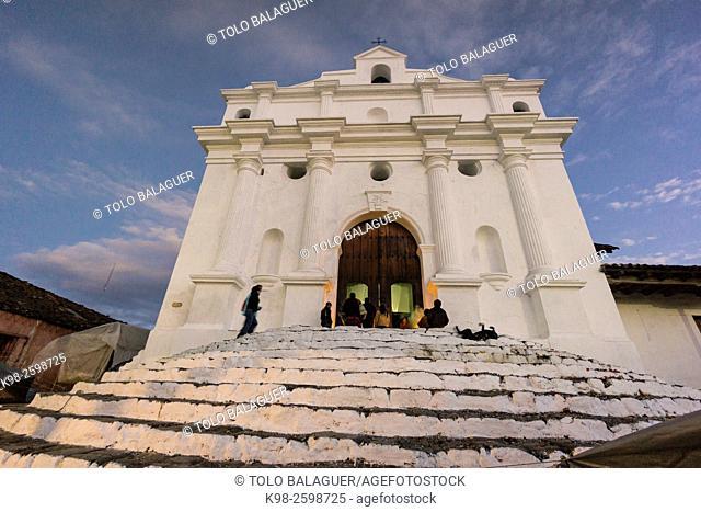 Iglesia de Santo Tomás, Chichicastenango , Municipio del departamento de El Quiché, Guatemala, Central America