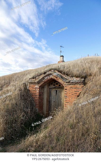 Moratinos, Spain: Private bodega in the village of Moratinos