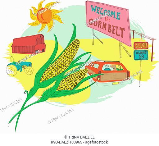 American Corn Farming