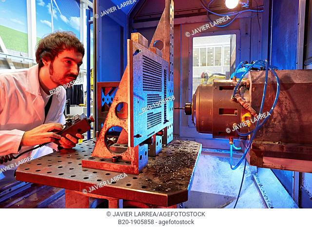 Drilling stack for aircraft parts  Dynamic analysis of the production system  Industry  Tecnalia Research & innovation, Technology and Research Centre