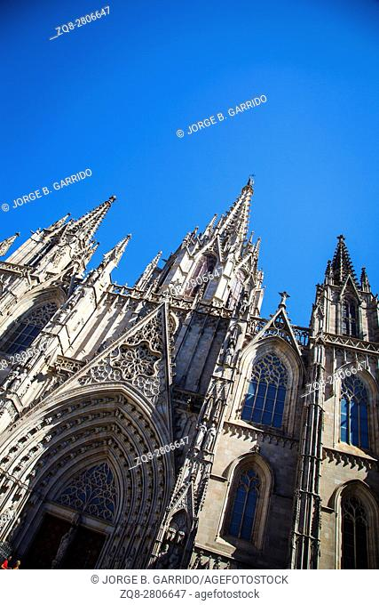 Barcelona Cathedral. Spain