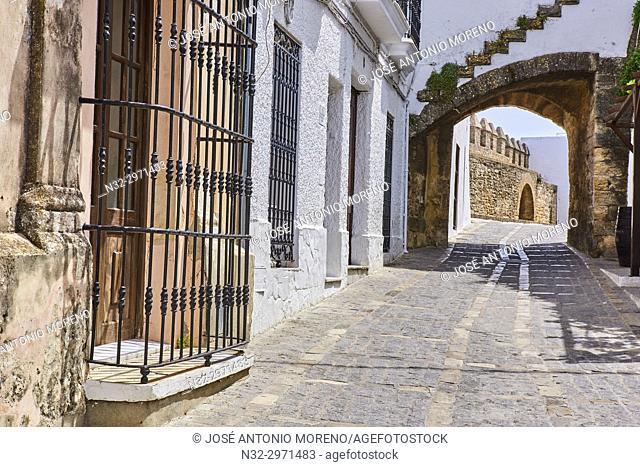 Vejer de la Frontera, Costa de la Luz. White Town, Cadiz Province. Andalucia. Spain
