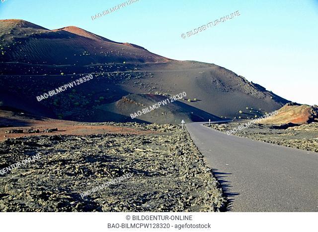 Timanfaya Nationalpark national park Lanzarote