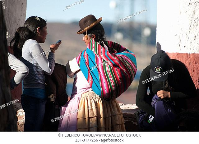 people from Chucuito. Peru