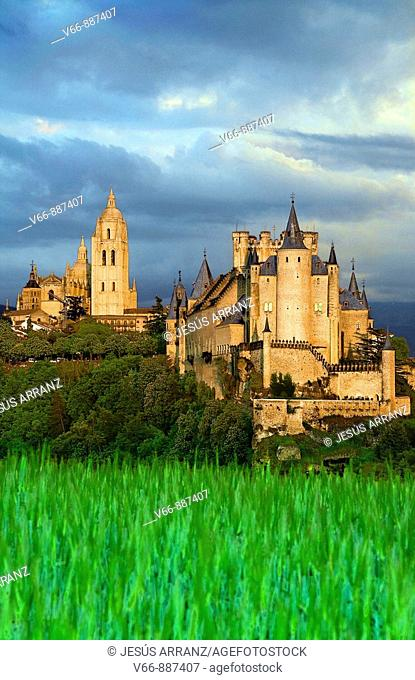 Alcazar and Cathedral of Segovia