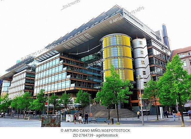 The Daimler Complex at Potsdamer Platz. Berlin, Germany