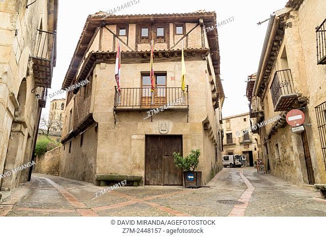 Pedraza. Conjunto histórico. Segovia province. Castile-Leon. Spain