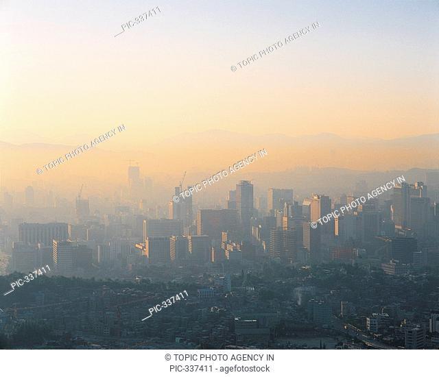 Smog,Seoul,Korea