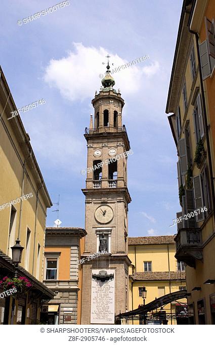 San Ludovico Bell Tower, Parma, Emilia-Romagna, Italy