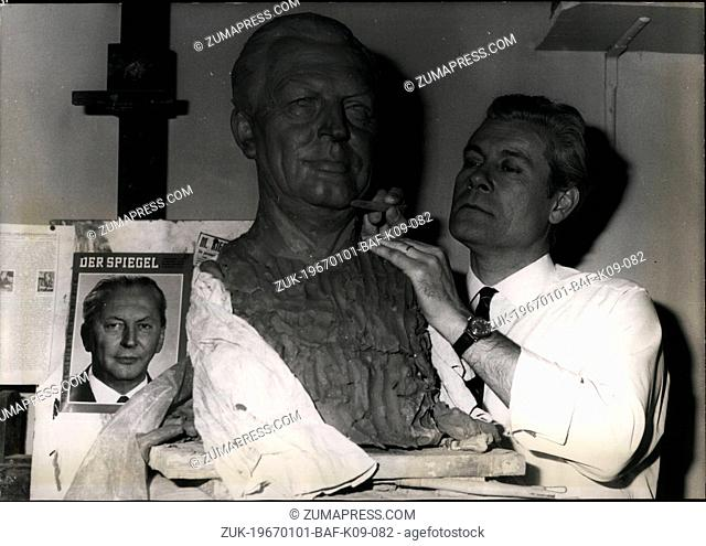 Jan. 01, 1967 - Kiessinger to Join Other Celebrities at Grevin Waxworks: Grevin the famous paris Museum of Wax figures, will have a new effigy