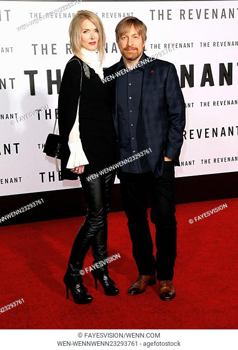 Premiere of 20th Century Fox and Regency Enterprises' 'The Revenant' held at TCL Chinese Theatre - Arrivals Featuring: Janne Tyldum