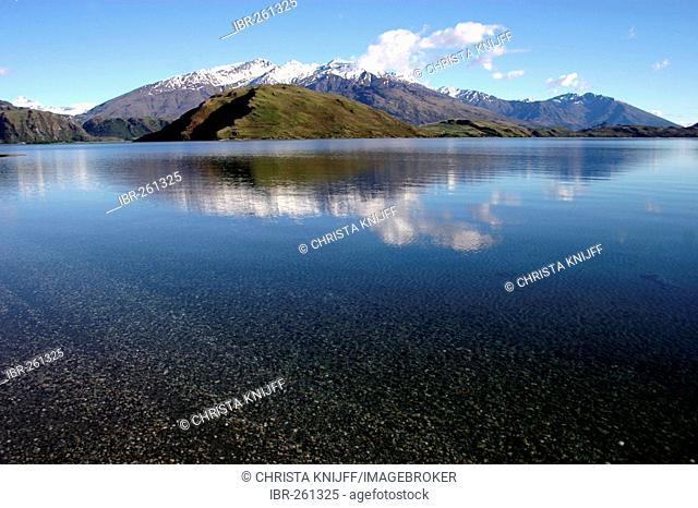 Lake Wanaka Glendhu Bay South Island New Zealand