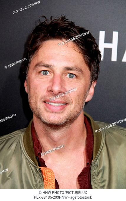Zack Braff 10/24/2016 The Los Angeles special screening of Hacksaw Ridge held at the Academy's Samuel Goldwyn Theater in Beverly Hills