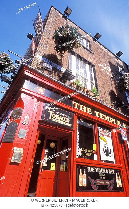 Pub, The Temple Bar, Dublin, Ireland, Europe